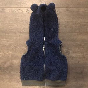 Bear Hood Vest